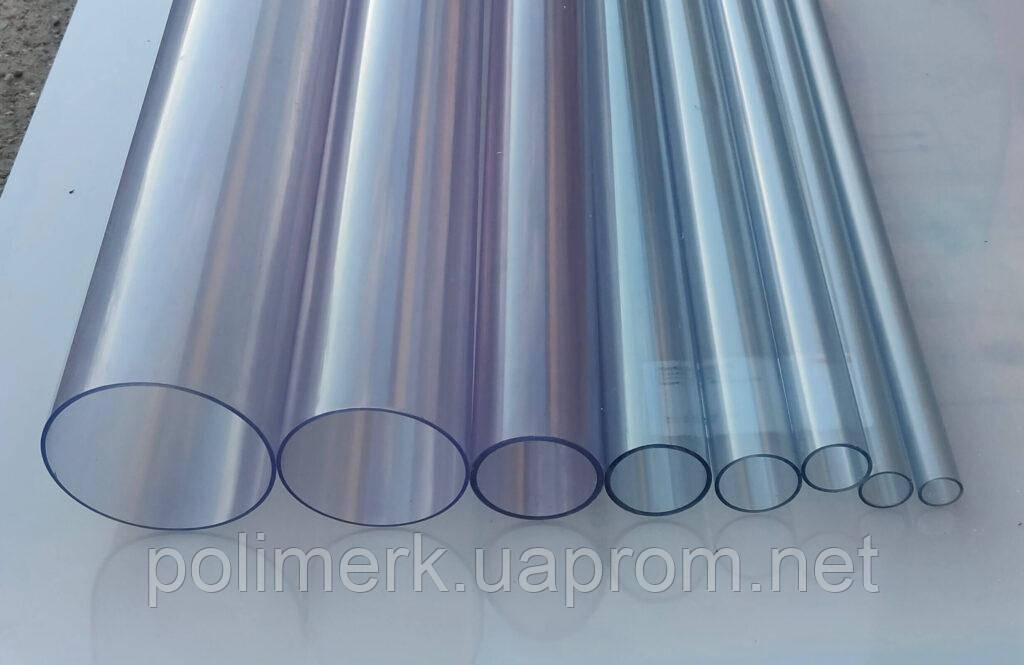 Труба ПВХ прозрачная PVC-GLAS D90мм PN4-10 1-8-mm