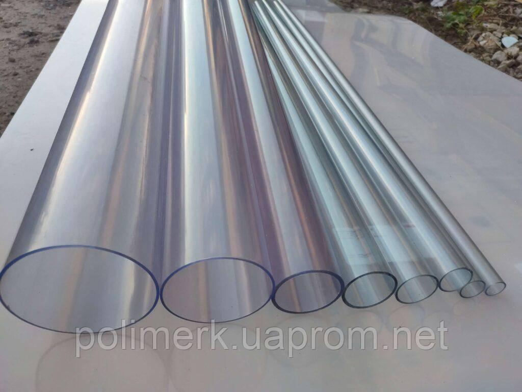 Труба ПВХ прозрачная PVC-GLAS D32 мм. PN12-16 2-4-mm