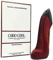 Тестер женского парфюма Carolina Herrera Good Girl Velvet Fatale 80 мл, парфюмерия, духи, Каролина