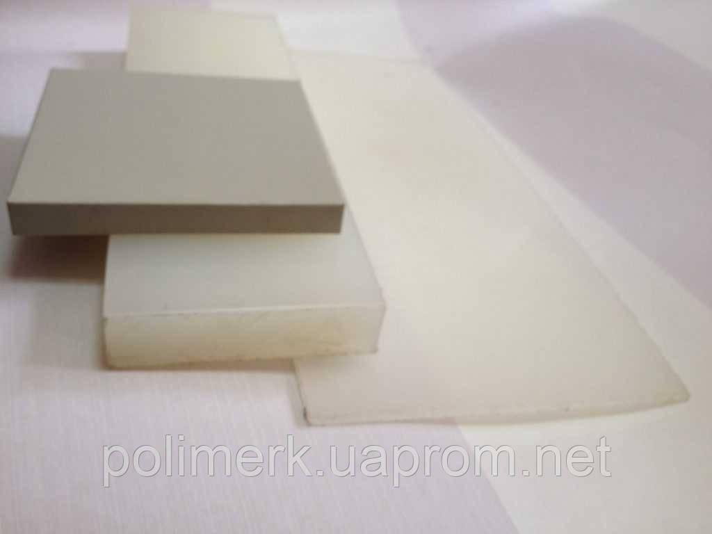 Листовой ПВХ поливинилхлорид жёсткий PVC-CAW SIMONA Германия 10-mm, svetlo-seryj, 1500-h3000-mm