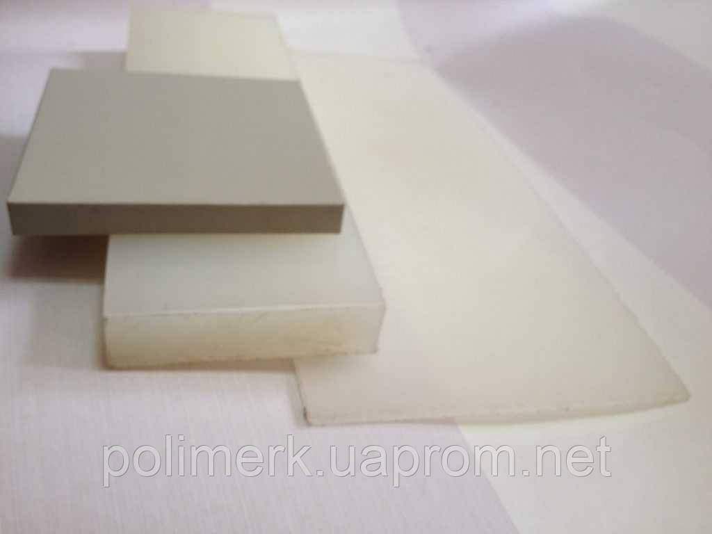 Листовой ПВХ поливинилхлорид жёсткий PVC-CAW SIMONA Германия 8-mm, svetlo-seryj, 1500-h3000-mm