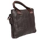 Мужская кожаная сумка с одной ручкой 300144, фото 4