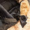 Детский конверт для коляски, санок 4 в 1 Springos SB0003 Black, фото 10