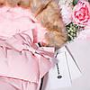 Детский конверт для коляски, санок 4 в 1 Springos SB0017 Pink, фото 7