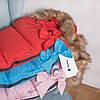 Детский конверт для коляски, санок 4 в 1 Springos SB0017 Pink, фото 4