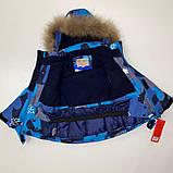 Зимний комбинезон для мальчика с натуральным мехом р. 86, 92, 98 (очень полномерный), фото 4