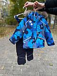 Зимний комбинезон для мальчика с натуральным мехом р. 86, 92, 98 (очень полномерный), фото 6