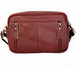 Многофункциональна мужская кожаная сумка 30118, фото 5