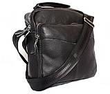 Мужская сумка большого размера из натуральной кожи 300124, фото 2