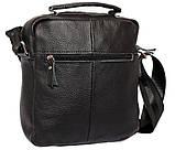 Мужская сумка большого размера из натуральной кожи 300124, фото 4