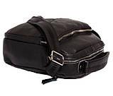 Мужская сумка большого размера из натуральной кожи 300124, фото 5