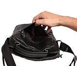 Мужская сумка большого размера из натуральной кожи 300124, фото 8