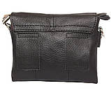 Горизонтальная мужская сумка для карманных вещей из натуральной кожи 300145, фото 3