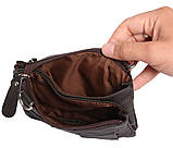 Кожаная сумка для мужчин на пояс 300152, фото 9