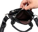 Мужская сумка компактного размера выполнена из натуральной кожи 300129, фото 5