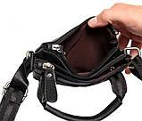 Мужская сумка компактного размера выполнена из натуральной кожи 300129, фото 7