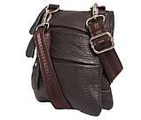 Вертикальная мужская сумка из натуральной кожи на пояс 300150, фото 4