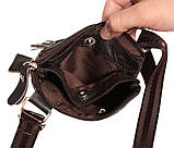 Мужская сумка из натуральной кожи через плечо 300132, фото 7