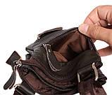 Мужская сумка из натуральной кожи через плечо 300132, фото 9