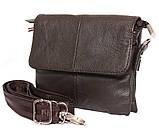 Горизонтальная кожаная сумка через плечо 300146, фото 2