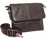 Горизонтальная кожаная сумка через плечо 300146, фото 3