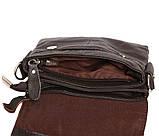 Горизонтальная кожаная сумка через плечо 300146, фото 6