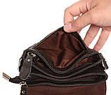 Горизонтальная кожаная сумка через плечо 300146, фото 9