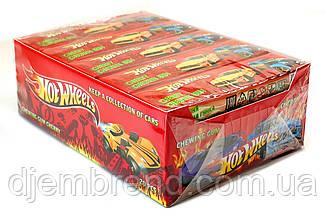 Жевательные резинки HotWheels- вишня, 20 пластинок