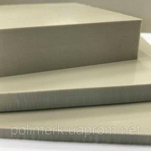 Полипропилен листовой СЕРЫЙ, PP-С SIMONA Германия 12-mm