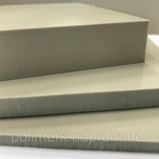 Полипропилен листовой СЕРЫЙ, PP-С SIMONA Германия 10-mm