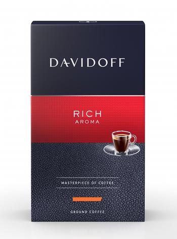 Кофе молотый Davidoff Cafe Rich Aroma 250 г, фото 2