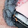 Детский конверт для коляски, санок 4 в 1 Springos SB0022 Pink, фото 4