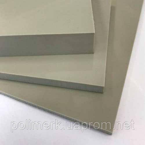 Полипропилен листовой СЕРЫЙ, PP-H  SIMONA Германия list-simolife-5-mm, jekstruzija, 1500-h3000-mm
