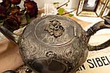 Антикварный посеребренный чайный сервиз, серебрение, Англия, Sheffield H. Land, фото 3