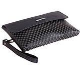 Стильный клатч барсетка для мужчин из натуральной кожи Norton 30717 Серый, фото 5