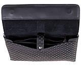 Стильный клатч барсетка для мужчин из натуральной кожи Norton 30717 Серый, фото 8