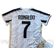 Футбольна форма Ювентус (FC Juventus) Рональдо сезону 20/21 дитяча