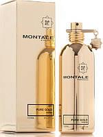 Лицензия Женская парфюмированная вода Montale Pure Gold - 100 мл, парфюм, туалетная вода, парфюмерия