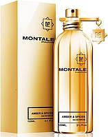 Лицензия парфюмированная вода Montale Amber & Spices (Унисекс) 100 мл, парфюм, туалетная вода, духи