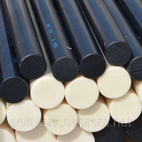 Стержень PE-HD(PE100), L = 2000 мм, натуральный (белый) 30-mm