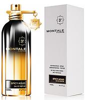 Тестер Spicy Aoud Montale Унісекс 100 мл, парфум, туалетна вода, парфуми, монталь духи, стійкі