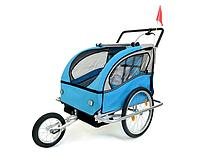 Прицеп велосипедный 2-osobowa +JOGGER niebieska