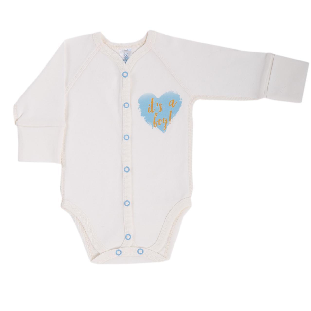 Боди для новорожденных Baby Veres Shimmer boy