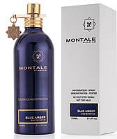 Тестер Montale Blue Amber унісекс 100 мл, парфум, туалетна вода, парфуми, монталь блу, парфуми