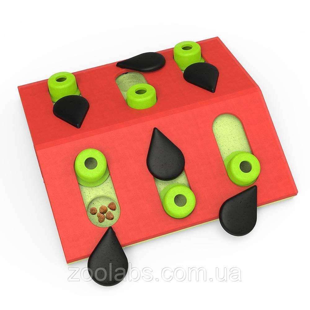 Интерактивная игрушка – головоломка для кошек Арбуз Nina Ottosson & Play Melon Madness