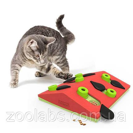 Интерактивная игрушка – головоломка для кошек Арбуз Nina Ottosson & Play Melon Madness, фото 2