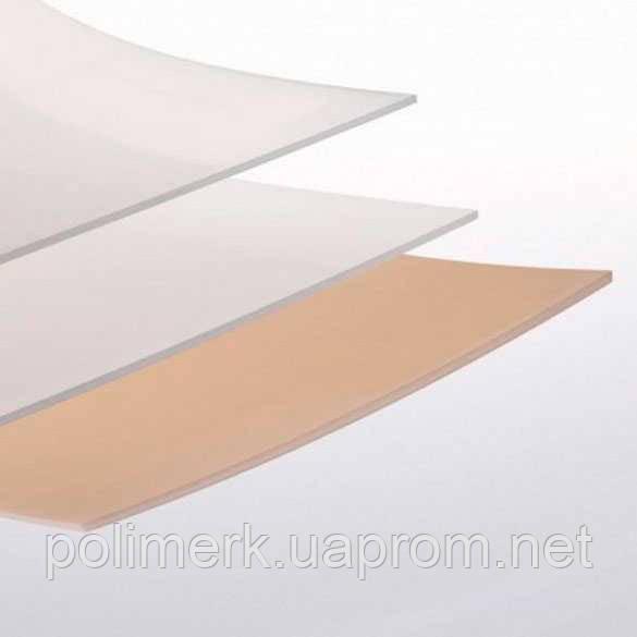 Лист пластика SIMOLIFE EVA flex, 400 х 400мм, натуральный (белый) 10-mm