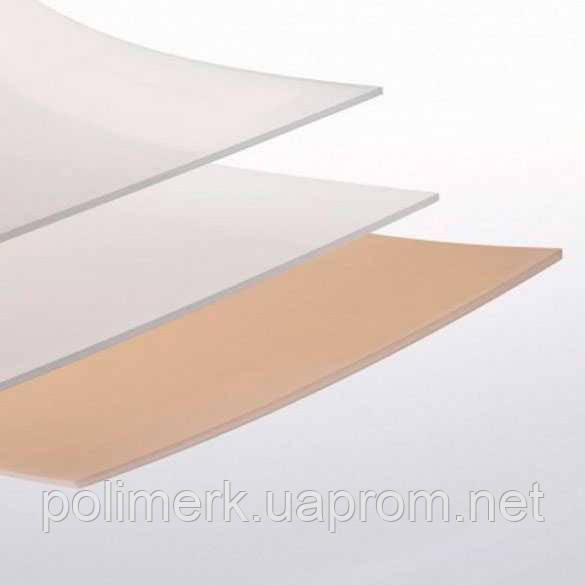 Лист SIMOLIFE PE-HWV 2000х1000, натуральний (белый) 3-mm