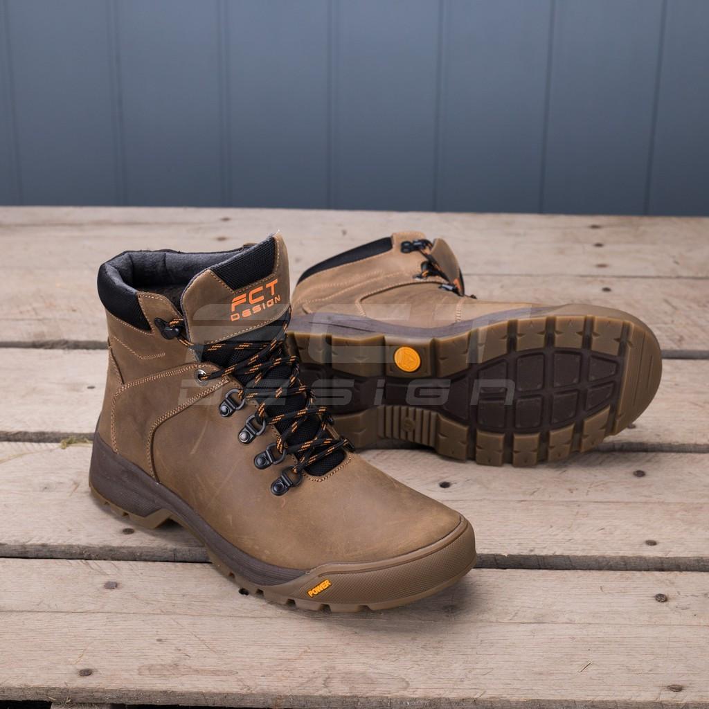 Ботинки зимние Грант натуральная кожа на шерсти сафари
