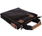 Качественная сумка для нетбука из эко кожи N30921 Черная, фото 6